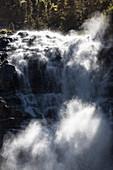 Grawafaelle waterfall, Stubaital, Tyrol, Austria, Europe
