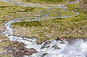 Sulzenau Valley, Wilde Water Trail, Stubaital, Stubaital, Tyrol, Austria, Europe