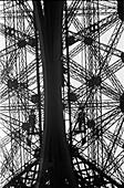 1959, abstract, blackandwhite, Eiffel Tower, Paris, France