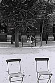 1961, Jardin Royal, Paris, France