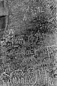 1960, Graffiti, Art, Paris, Frankreich