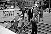 1959, Metrostation, Paris, France