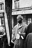 1958, Place du Tertre, Montmartre, Paris, France