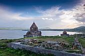 monastery, Sewanawank, lake sewan, Armenia