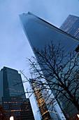 Freedom Tower, World Trade Center Memorial, New York City, USA