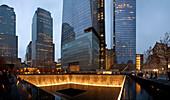 World Trade Center Memorial, New York City, USA