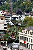 Schwebebahn, Wuppertal, North Rhine-Westphalia, Germany