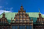 The Rathaus on Marktplatz, Bremen, Germany