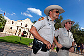 Texas Alamo Rangers, The Alamo, San Antonio, Texas, USA