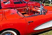 Chevrolet Corvette, US Car Oldtimer Show, Diedersdorf, Germany