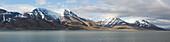 Isfjorden, next to Longyearbyen, Spitzbergen, Svalbard