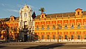 Palacio de San Telmo, former marine school, 18th. century, Seville, Andalucia, Spain, Europe