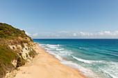 beach, Los Canos de Meca in Parque Natural de la Brena nature park near Vejer de la Frontera, Costa de la Luz, Atlantic Ocean, Cadiz province, Andalucia, Spain, Europe