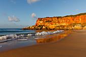 Cala del Aceite, bayand beach near Conil, Costa de la Luz, Cadiz province, Andalucia, Spain, Europe