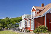 Schwedenhaus bei Falkenberg, Halland, Südschweden, Schweden, Skandinavien, Nordeuropa, Europa