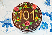 birthday cake, 101st birthday, Germany