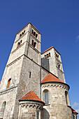romanic Basilika St. Michael, Altenstadt, Pfaffenwinkel, Upper Bavaria, Bavaria, Germany