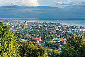 View over Dili, capital of East Timor, Southeast Asia, Asia
