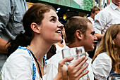 Young Woman, Octoberfest, Munich, Germany