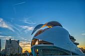 Spain, Valencia, City of Art And Science , Calatrava