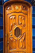 Barcelona, ??Katalonien, Spanien, Südeuropa, Die einzigartige Antoni Gaudi Architektur von Casa Batllo