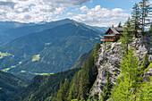 Lienz Dolomites, East Tyrol, Austria,  The Dolomiten Hut