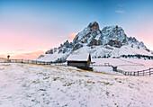 Sass de Putia, Passo delle Erbe, Provinz Bozen, Trentino-Südtirol, Italien