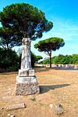 Archaeological area of Ostia Antica, Roma district, Lazio Italy