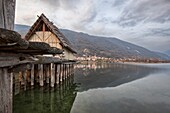 On the shores of the lake of Lago is the Archeopark Livelet , archaeological park educational, The entire structure is built on stilts, in the area there are three huts, realized in real scale, a house on stilts is supported by solid piles directly on the