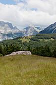 dramatic mountain scene, Theth, Albanian alps, Albania