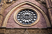 'A Round Window On St. James United Church; Montreal, Quebec, Canada'
