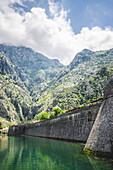 Fortification Walls Around Kotor, Montenegro
