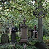 Abney Cemetery, Stoke Newington, London, England