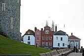 Häuser am Castle Hill, Windsor, Berkshire, England