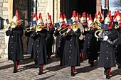 Wachablösung, Windsor Castle, Windsor, Berkshire, England