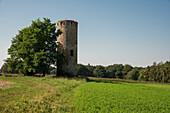 Spießturm, Ort der ersten Landtage, nahe Spieskappel, Hessen, Deutschland, Europa