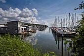 In the jaich water holiday world and Yachthafen in Lauterbach, Ruegen, Mecklenburg Vorpommern, Germany