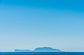 One of many islands in the area Tyrrhenian Sea in the Mediterranean Sea, the Gulf of Naples, Campania, Italy