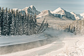The Morant´s Curve, Banff Town, Bow Valley, Banff National Park, Alberta, canada, north america