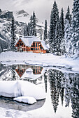 Emerald Lake Lodge, Emerald lake, Yoho National Park, British Columbia, Kanada, north america