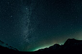 night sky at Banff national park, Bow Valley, Banff National Park, Alberta, Kanada, north america