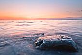 stone, Baltic Sea, Schwedeneck, Eckerförder Bay, Schleswig Holstein, Germany