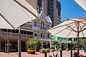 Pedestrian area, waterkant quarter, Cape Town, South Africa