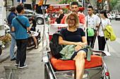 bicycle, citytour, cyclotour, Hanoi, Vietnam