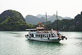 sea, boat, Halong Bay, Vietnam