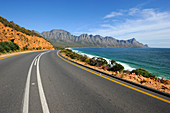 Coast street, after Camps Bay, Garden Route, South Africa