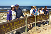Tourists, Cape of goot Hope, South Africa