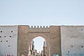 Details of Arabian architecture in Taroudant, Morocco