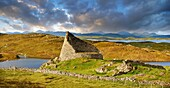 Pictures of Dun Carloway Broch on the Isle of Lewis in the Outer Hebrides, Scotland. Brochs are among Scotland's most impressive prehistoric buildings and were the precursors of the Medieval Scottish Tower Houses. The world Broch is derived from lowland s