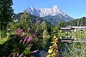 Griesenau at Kaiservalley near Sankt Johann, Tyrol, Austria